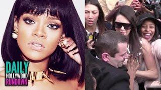 Kendall Jenner Trampled At Paris Fashion Week? Rihanna New Songs