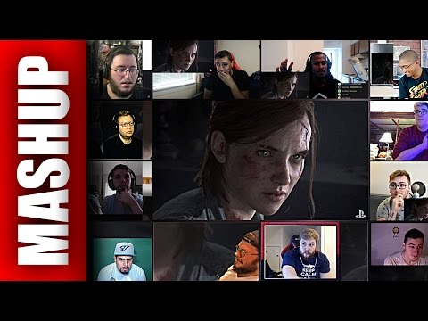 The Last of Us 2 Reveal Trailer Reactions Mashup