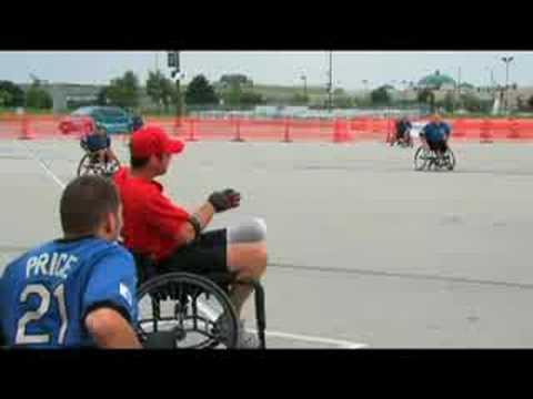 National Wheelchair Softball Association Championship '08