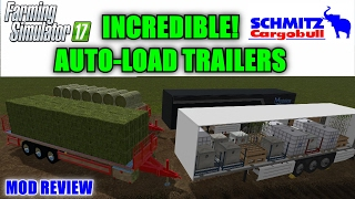 """Farming Simulator 17 - Incredible Auto-Load  s """"Mod Review"""" 21.32 MB"""