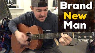 Brand New Man | Brooks & Dunn | Beginner Guitar Lesson