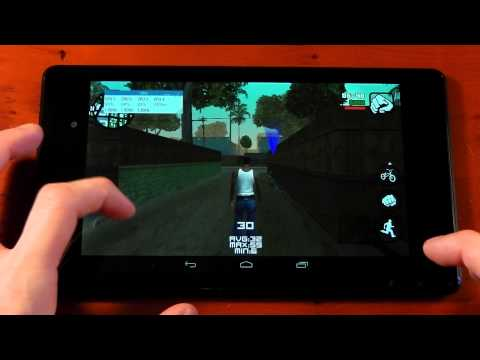 Nexus 7 (2013) - GTA : San Andreas - Performance Review
