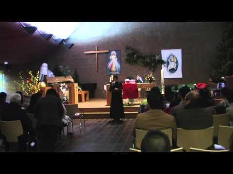 Cha Giuse Nguyễn Thiết Thắng giảng về năm Thánh