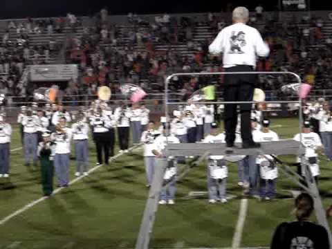 Muskogee High School and Alumni Band perform Oklahoma!