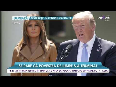 Divorţ la Casa Albă! Melania Trump aşteaptă ca soţul ei să îşi încheie mandatul