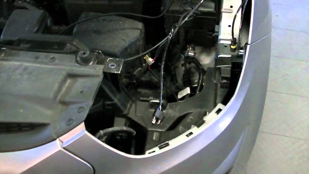 How To Install HID Lights Into Your 20102012 Hyundai
