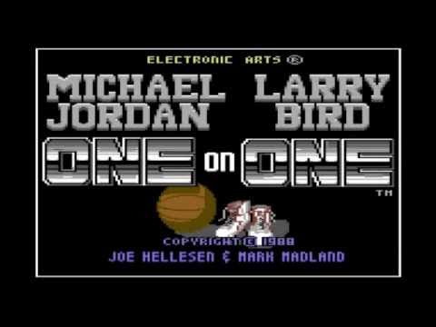 Jordan vs. Bird - One on One (C64) - Slam Dunk Contest