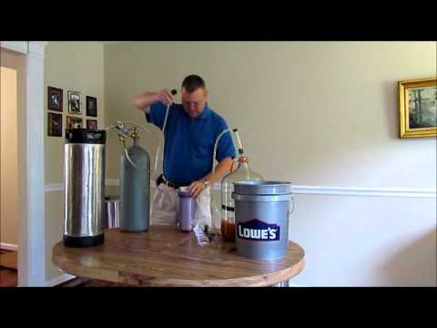 How To Keg and Filter Your Home Brew