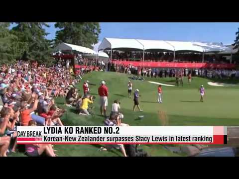 Lydia Ko jumps up to number two in latest world ranking   리디아 고, 세계랭킹 2위로 ′껑충′
