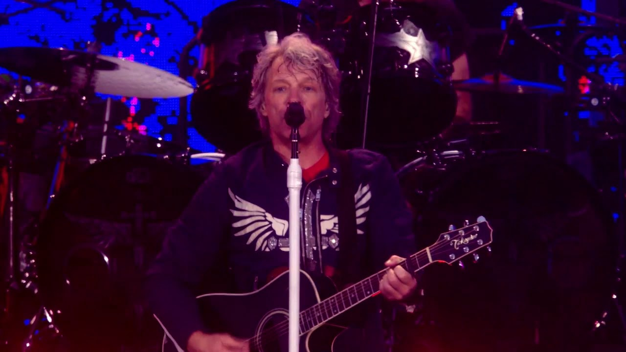 "Bon Jovi - ""We Weren't Born to Follow""のライブ映像を公開 「2019 This House Is Not For Sale Tour」Sonderborg (Denmark)公演から thm Music info Clip"