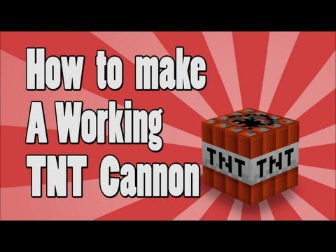 Tutorial: How to make a Working TNT Cannon on Minecraft xbox 360 Edition