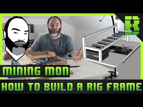 How To Build Mining Rig Frame / Case | 2018 Cheap DIY Tutorial and Guide Part 1