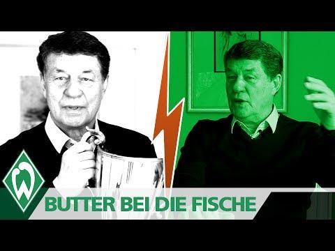BUTTER BEI DIE FISCHE: Otto Rehhagel   SV Werder Bremen   Europapokal der Pokalsieger '92