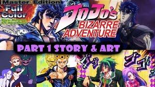 AH Anime Presentation JoJo's Bizarre Adventure Part 1: Story & Art V2