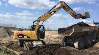 CAT M316D #Wheeled #Excavator