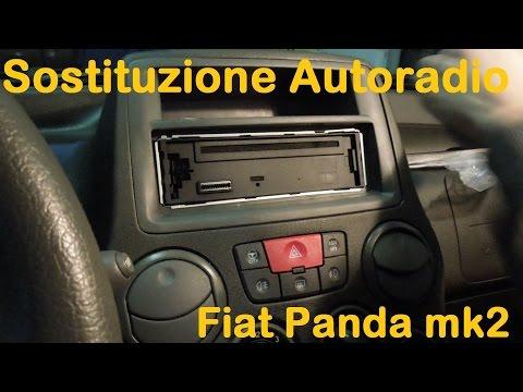 Sostituzione Autoradio Fiat Panda 2° Serie(169)