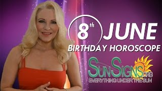 Birthday June 8th Horoscope Personality Zodiac Sign Gemini Astrology