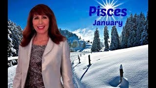 Pisces January Astrology WONDERFUL NEWS & Serious Manifesting