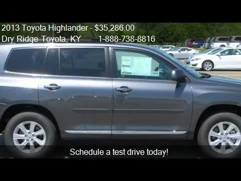 2013 Toyota Highlander SE - for sale in Dry Ridge, KY 41035