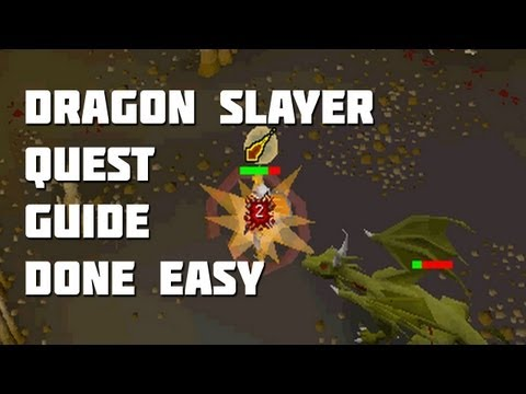 Runescape 2007 Dragon Slayer Quest Guide - Quest Guides Done Easy - Framed