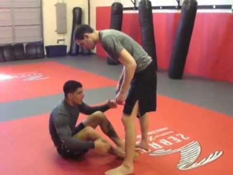 BJJ / MMA Training & Techniques | Half X Guard Sweep | Inferno, Marlboro NJ Image 1