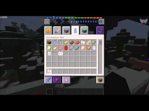 Обзор мода для Minecraft - Survivalist Mod [Выжить любой ценой]