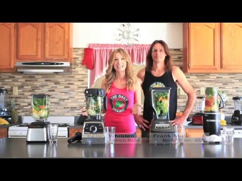 Dr. Oz - Juicing - Blend Off. Blendtec vs Vitamix - Nutribullet vs Ninja. Oz - Juicing - Recipe