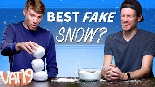And The Best Fake Snow Is...?