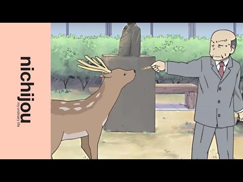 Nichijou - My Ordinary Life – Principal Vs. Deer