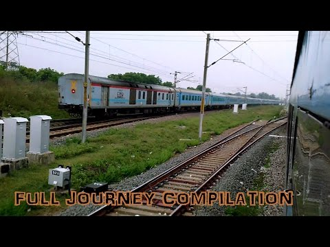 Journey Compilation in Mysore Shatabdi!! Highlights of a luxury ride from Chennai to Bangalore!!