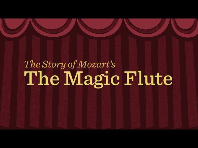 Mozart's 'Magic Flute': an animated plot summary