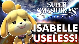 ISABELLE DOESN'T DESERVE TO BE IN SMASH ULTIMATE!! No Fillers