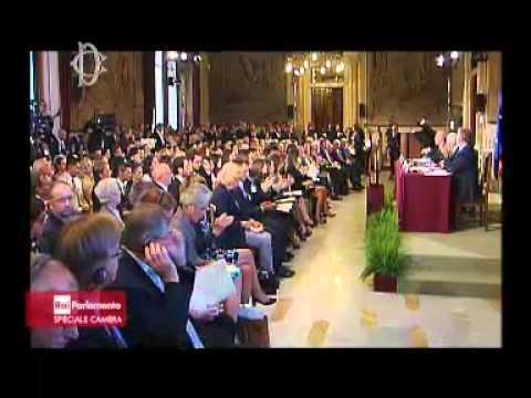Roma - Impegno per un'Unione federale di Stati – Cerimonia per dichiarazione comune (14.09.15)