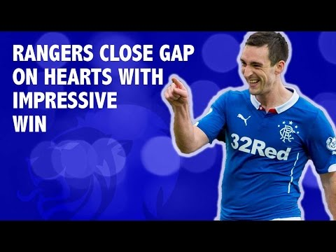 Gers close gap on Hearts with impressive win