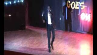 BOVI JOKES ON LAUGH GOES ON SHOW