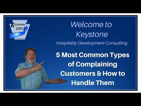 5 Most Common Types of Complaining Customers and How to Handle Them