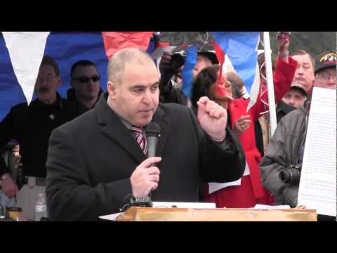 Shahram Hadian at 2nd Amendment Rally in Olympia, WA 2013