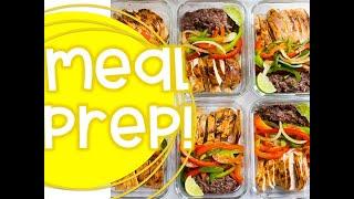 Weekly Meal Prep | Teacher Healthy Lifestyle