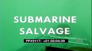 Submarine Salvage - Submarine Retrieval 2117