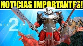 Destiny 2: GRANDES Noticias! Notas del Parche! Ultimo Osiris!