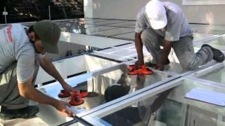 Cobertura de Vidro para Garagem Digicom - Milena C. Bello