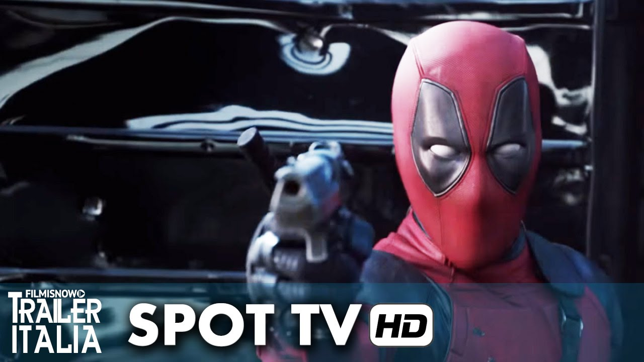 DEADPOOL Spot 'Super' - Ryan Reynolds [HD]