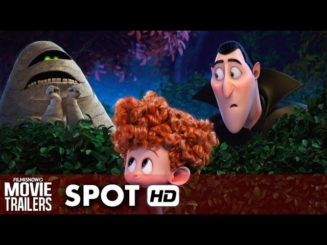 Hotel Transylvania Halloween Spot 'Monster Fun Halloween Party!' (2015) HD