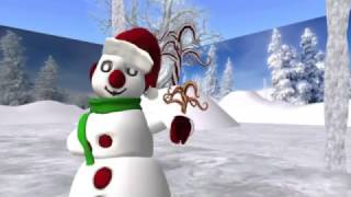 Bay's Big Holiday Hug, Second Life machinima