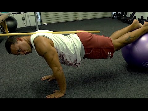 Jack Knife Exercise (for abs, low back and hip flexors) Image 1