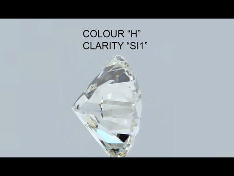 ROUND BRILLIANT CUT DIAMOND I SI1, DIAMOND DEALERS SOUTH AFRICA.