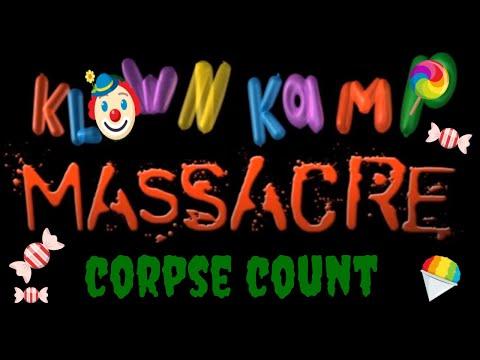 Klown Kamp Massacre (2010) Carnage Count