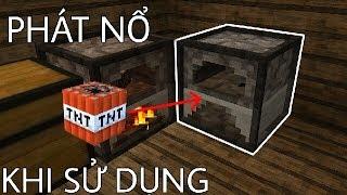 Cái Lò Này Sẽ PHÁT NỔ Khi Ai Đó Dùng Nó, 100% Dính Bẫy ! - Minecraft PE