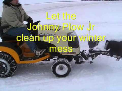 Johnny Plow Jr a Johnny Bucket Accessory