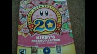 Unboxing Kirby's 20th Anniversary Special Edition